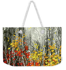 Weekender Tote Bag featuring the painting Last Dance by Tatiana Iliina