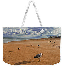 Last Day At The Beach Weekender Tote Bag