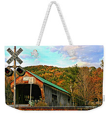 Weekender Tote Bag featuring the photograph Last Days by DJ Florek