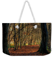 Weekender Tote Bag featuring the photograph Last Days Of Autumn by Jeremy Lavender Photography