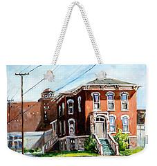 Last House Standing Weekender Tote Bag
