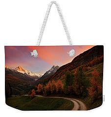Last Illumination Weekender Tote Bag