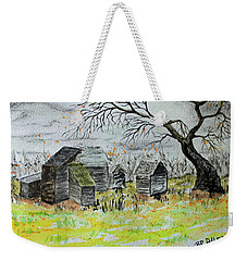 Last Leaf Fall Weekender Tote Bag