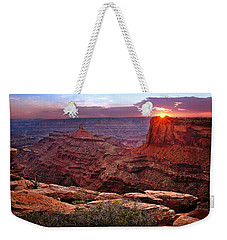 Last Light At Dead Horse Point Weekender Tote Bag