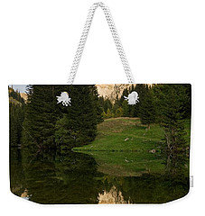 Last Light At Lac De Fontaine Weekender Tote Bag