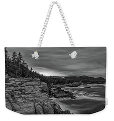 Last Light At Otter Cliff Weekender Tote Bag