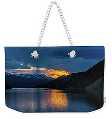 Last Light At Summit Cove Weekender Tote Bag
