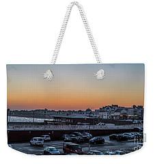Last Light Weekender Tote Bag by David  Hollingworth