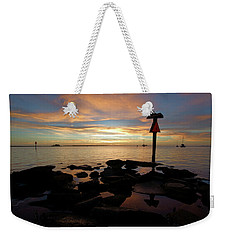Last Light In Dunedin Weekender Tote Bag
