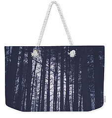 Weekender Tote Bag featuring the photograph Last Light In The Forest by Shane Holsclaw