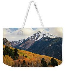 Last Light Of Autumn Weekender Tote Bag