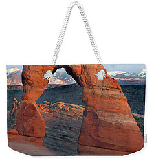 Last Light On Delicate Arch  Weekender Tote Bag