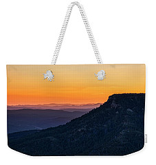 Weekender Tote Bag featuring the photograph Last Light On The Rim  by Saija Lehtonen