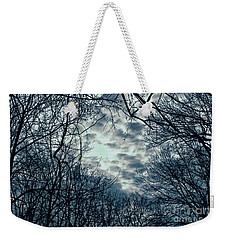 Weekender Tote Bag featuring the photograph Last Light by Sandy Moulder