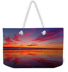 Last Light Topsail Beach Weekender Tote Bag