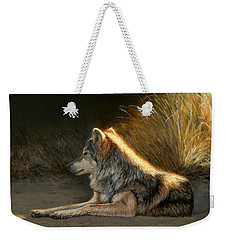 Last Light - Wolf Weekender Tote Bag