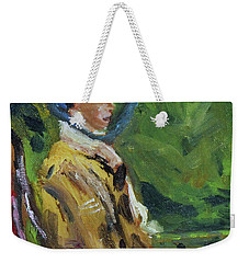 Last Portrait Of His Wife Suzanne., After Manet Weekender Tote Bag