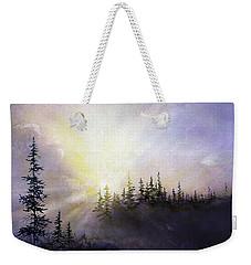 Last Rays Sunset Weekender Tote Bag