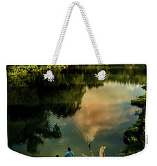 Weekender Tote Bag featuring the photograph Last Seconds Of Summer by Robert Frederick