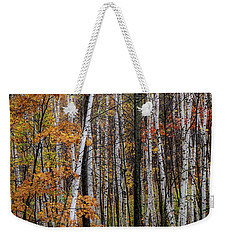 Weekender Tote Bag featuring the photograph Last Stand by Kendall McKernon