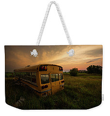 Weekender Tote Bag featuring the photograph Last Stop  by Aaron J Groen