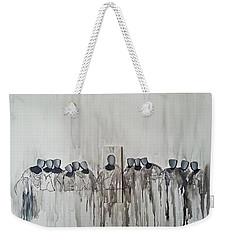Last Supper Weekender Tote Bag by Fei A