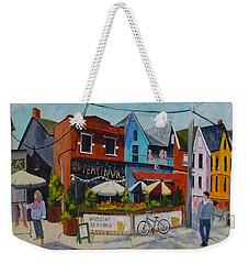 Last Temptation Weekender Tote Bag