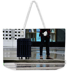 Last Text  Weekender Tote Bag by Empty Wall