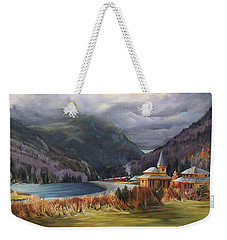 Last Train To Crawford Notch Depot Weekender Tote Bag