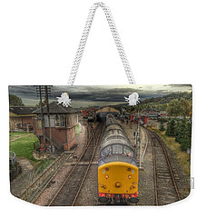 Last Train To Manuel Weekender Tote Bag