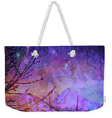 Last Twinkling Before Dawn Weekender Tote Bag by Anastasia Savage Ealy