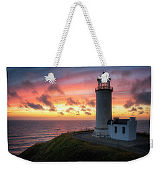 Weekender Tote Bag featuring the photograph Lasting Light by Ryan Manuel
