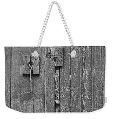 Latch On Garage Store Weekender Tote Bag
