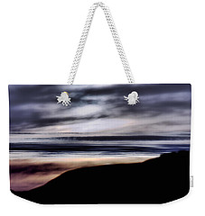 Weekender Tote Bag featuring the photograph Late Afternoon Glow - Pescadero by Bob Wall