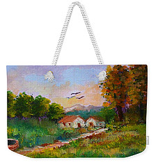 Late Afternoon Weekender Tote Bag
