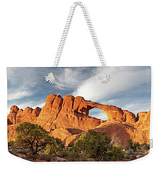 Late Afternoon Light On Skyline Arch Weekender Tote Bag