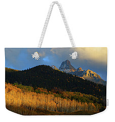 Late Afternoon Light On The San Juans Weekender Tote Bag