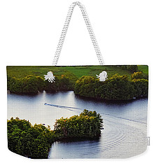 Late Afternoon On Lake Megunticook, Camden, Maine -43988 Weekender Tote Bag
