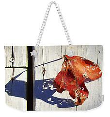 Late Afternoon Shadow Weekender Tote Bag by J R Seymour
