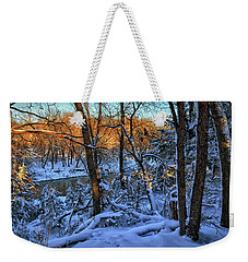 Late Afternoon Winter Light Weekender Tote Bag