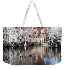 Late Autumn Along The Waccamaw River Weekender Tote Bag