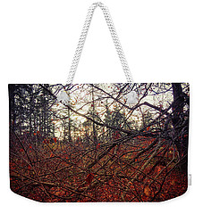 Late Autumn Morning Weekender Tote Bag