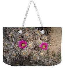 Late Bloomer Weekender Tote Bag by Angela J Wright