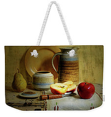 Weekender Tote Bag featuring the photograph Late Day Break by Diana Angstadt