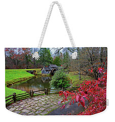 Late Fall At Mabry Mill Weekender Tote Bag