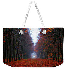 Late Fall Forest Weekender Tote Bag