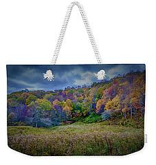 Late Fall On Green Knob Trail Weekender Tote Bag