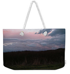 Weekender Tote Bag featuring the photograph Late Light by Laurie Stewart