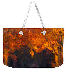 Weekender Tote Bag featuring the photograph Late Nature Walk. by Luc Van de Steeg