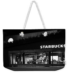 Weekender Tote Bag featuring the photograph Late Night At The Bucs by David Lee Thompson